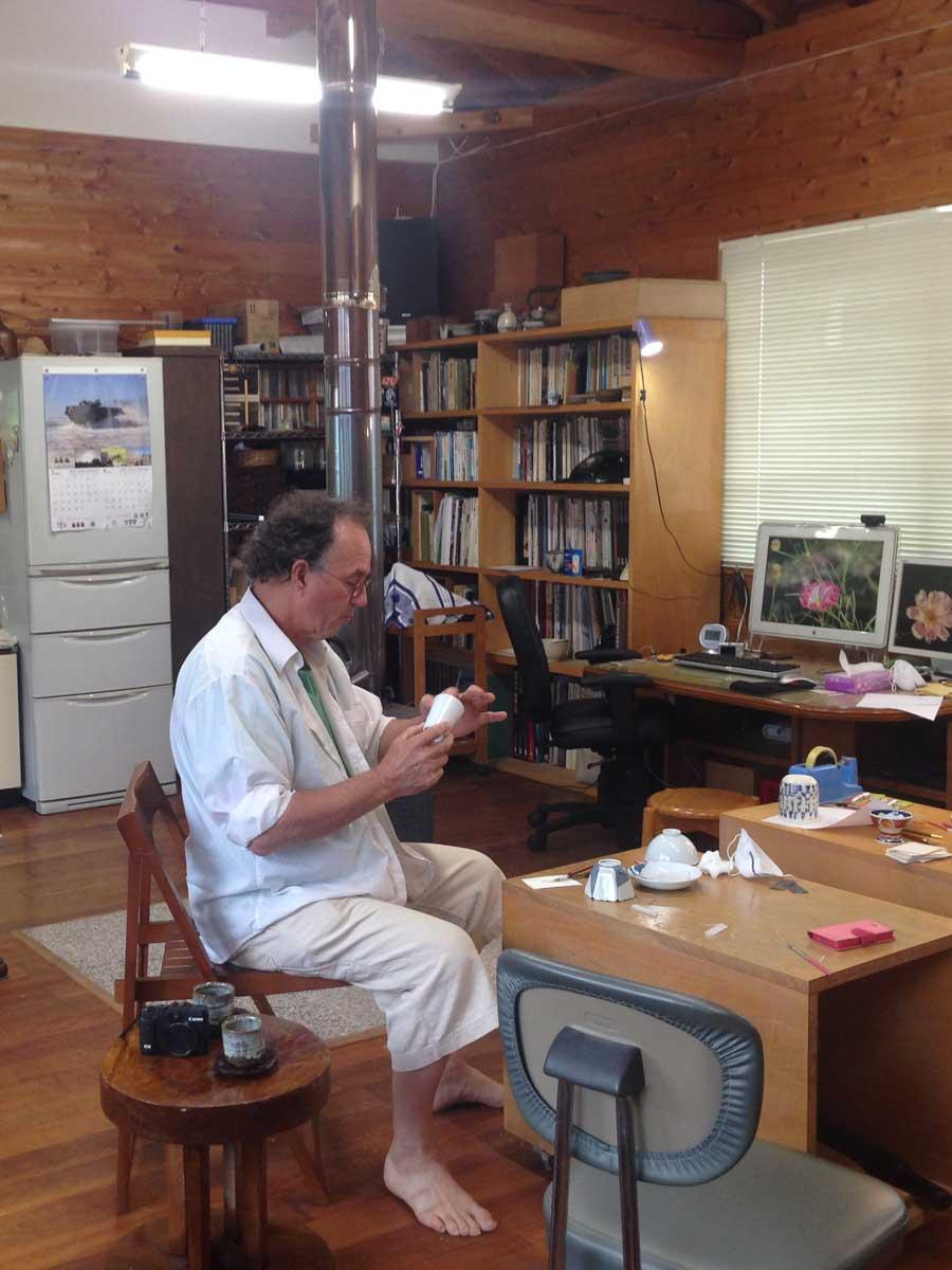 金継ぎの体験学習 Workshop Kintsugi