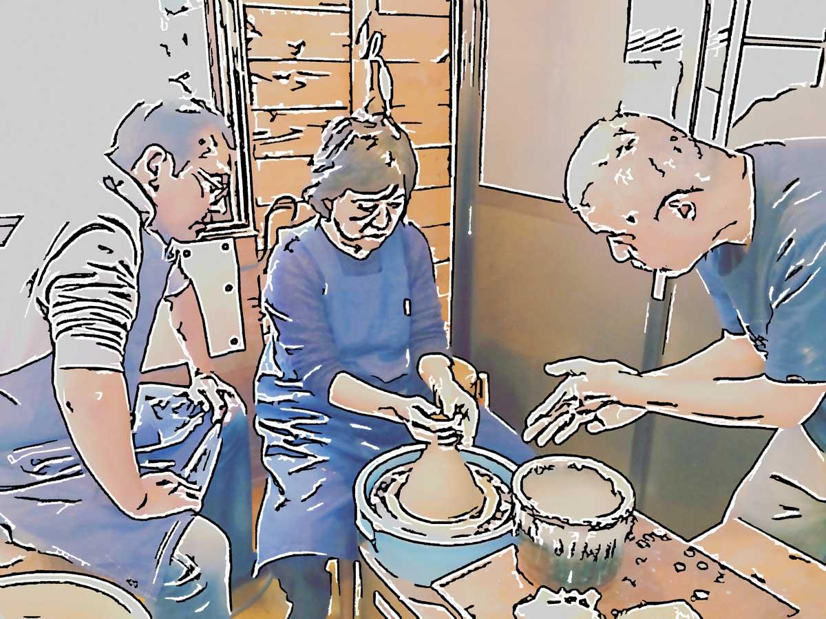 庵久陶芸体験ワークショップ201711152